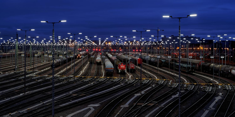 Freight Terminal by Jan Grau