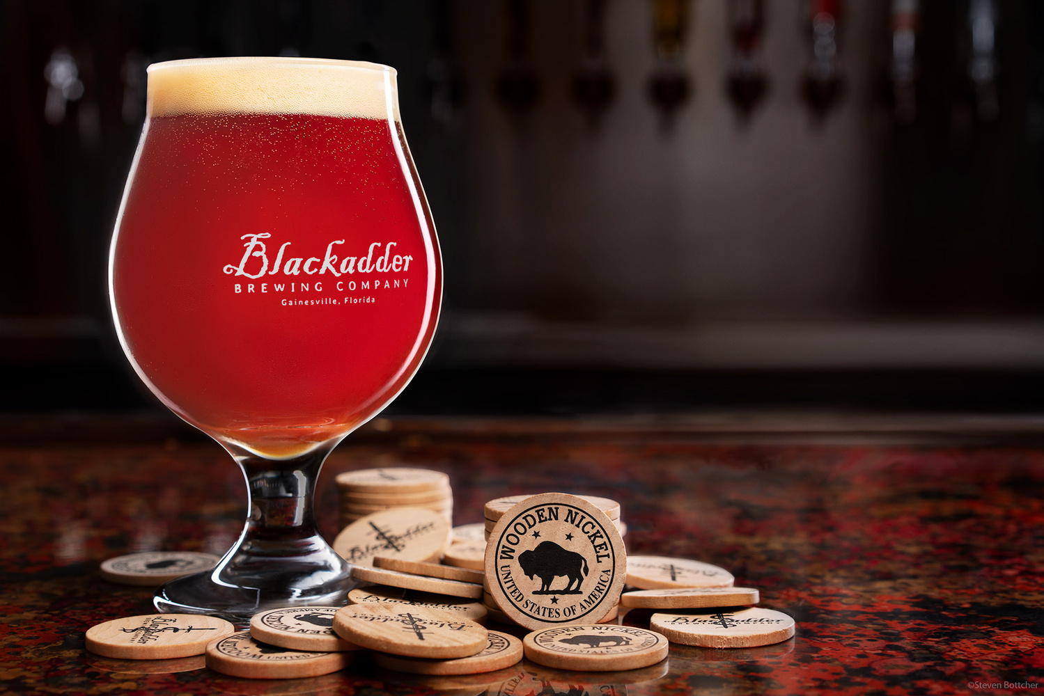 Blackadder Bar Top Promotion by Steven Bottcher