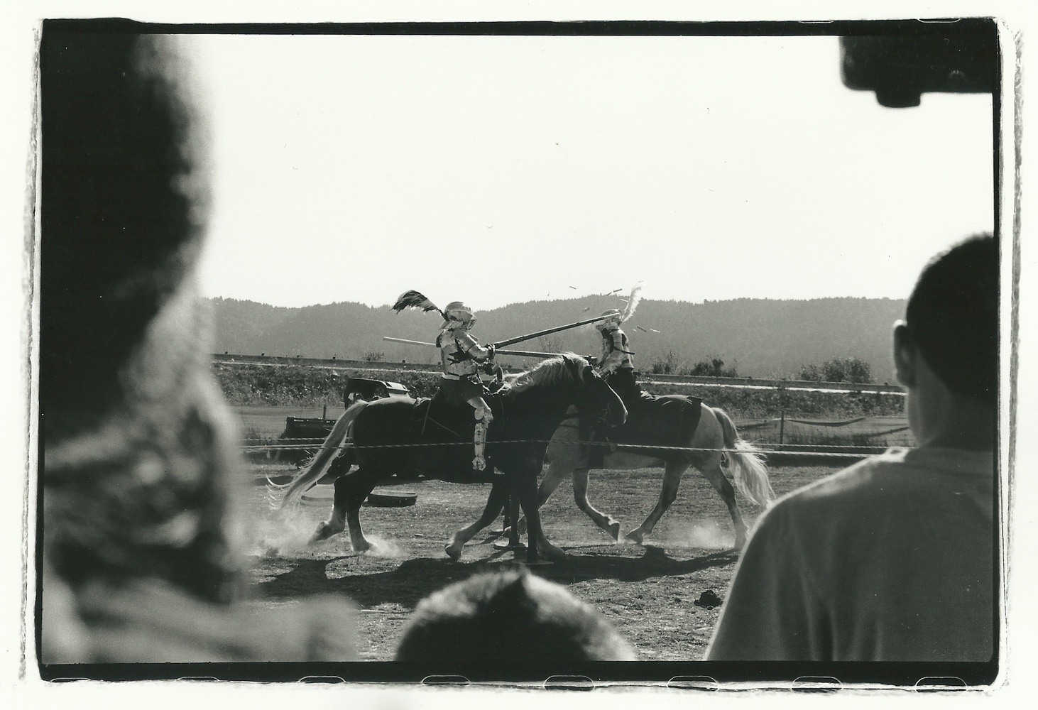 Jousting on 35mm Film by Thomas Lal
