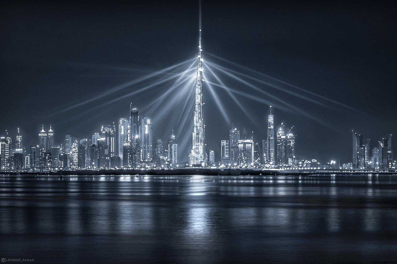 Dubai's Lighthouse by Ahmad Alnaji