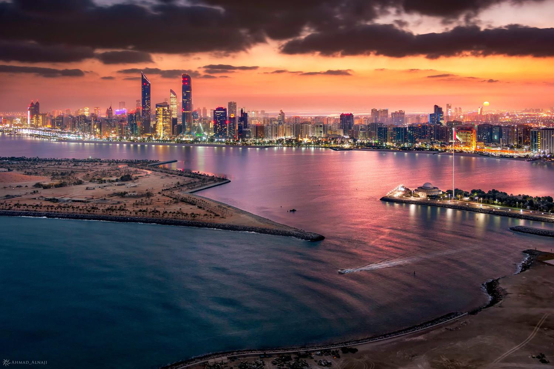 Good Morning Abu Dhabi by Ahmad Alnaji