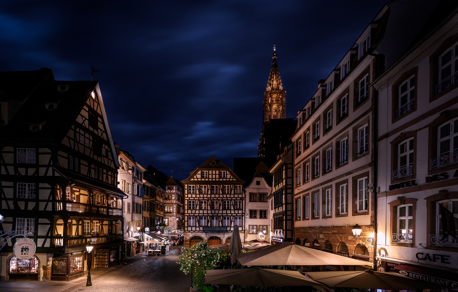 Strasbourg (France) - Old city place by Thomas Andlauer