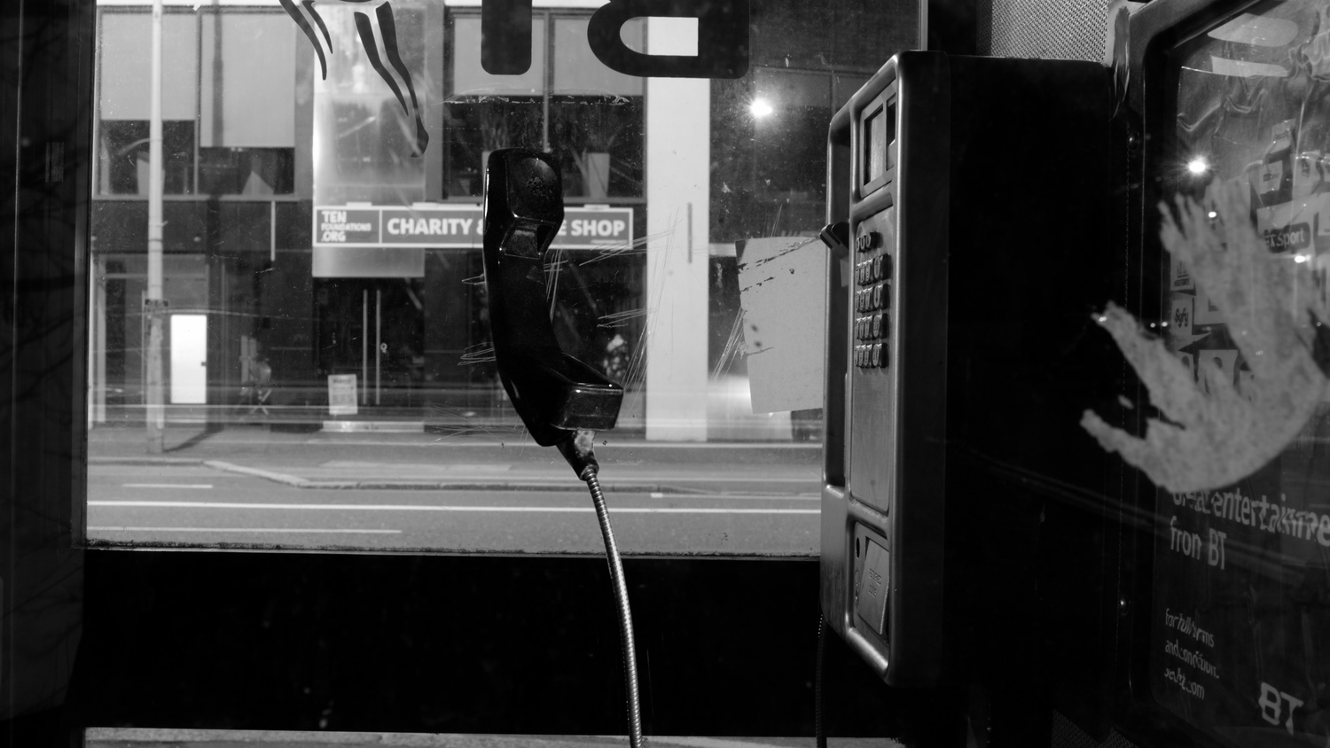 The Empty Phonebooth by Timothy McGlinchey