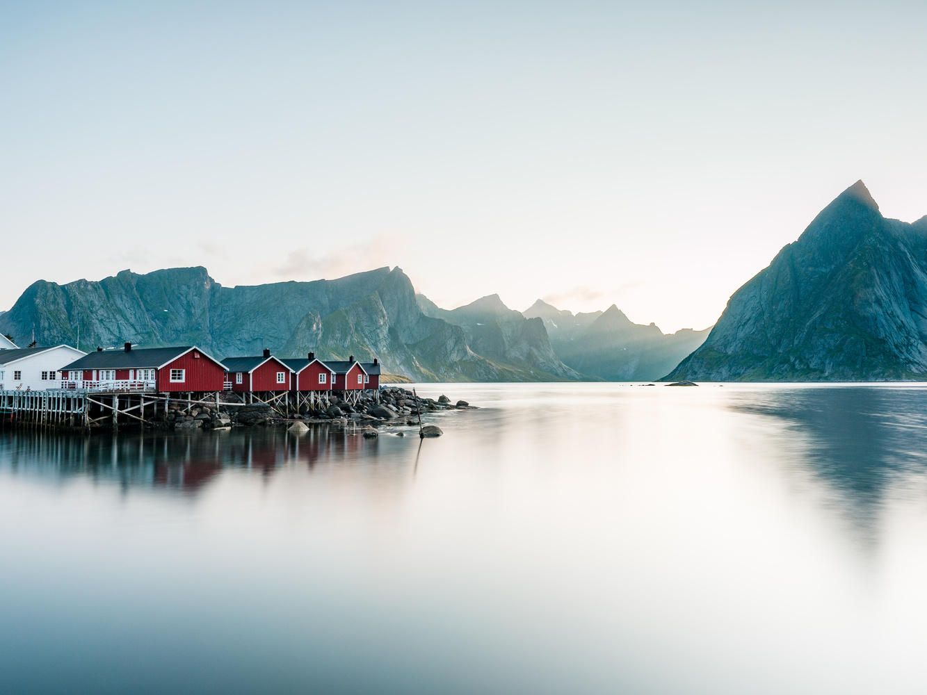 Hamnoy – Lofoten - Norway by Sam Green