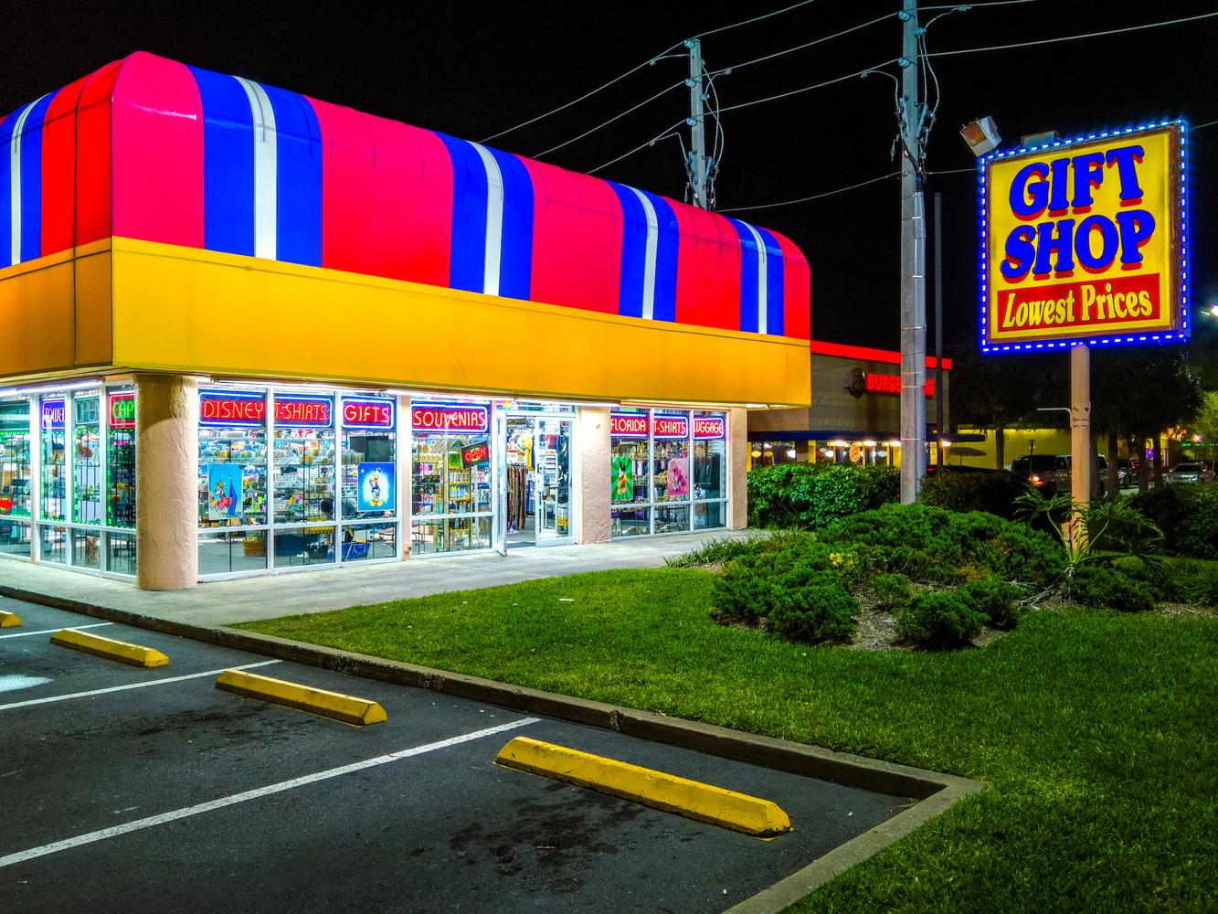 Gift Shop by Frazer Waller