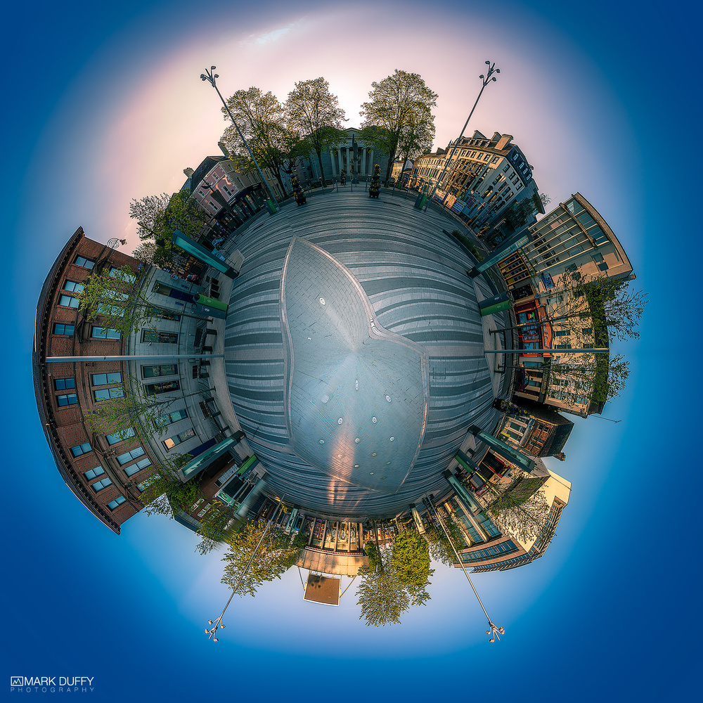 Dundalk Tiny Planet by Mark Duffy