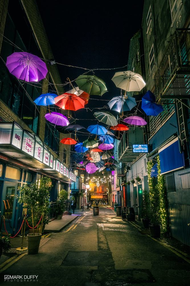 Anne's Lane Umbrellas by Mark Duffy