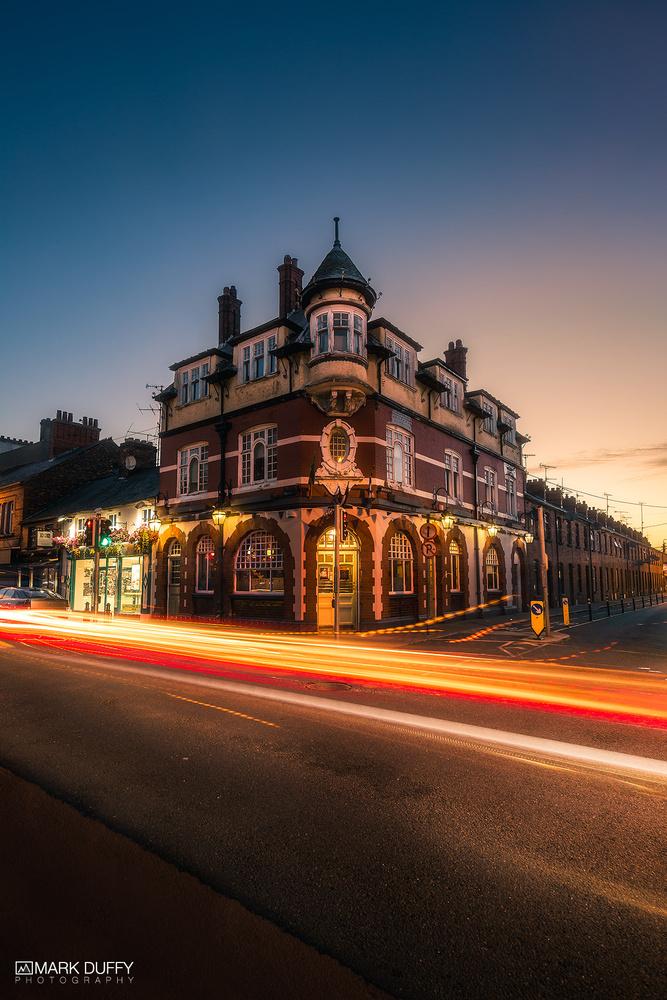 Century Bar Blue Hour by Mark Duffy