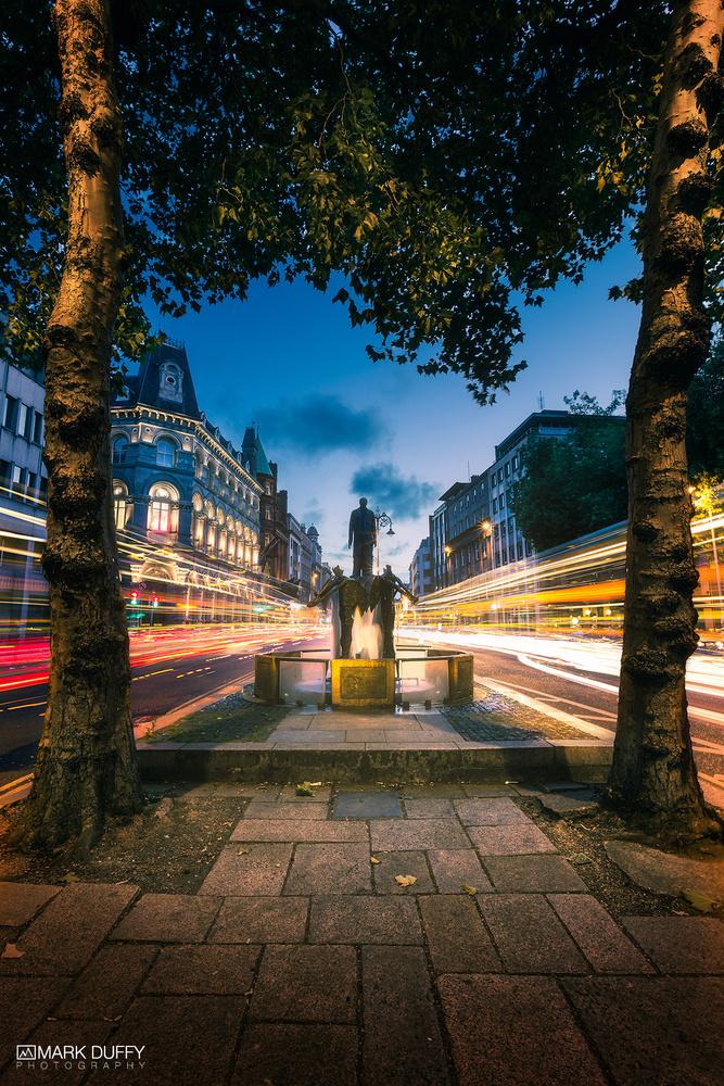 Dame Street Dublin by Mark Duffy