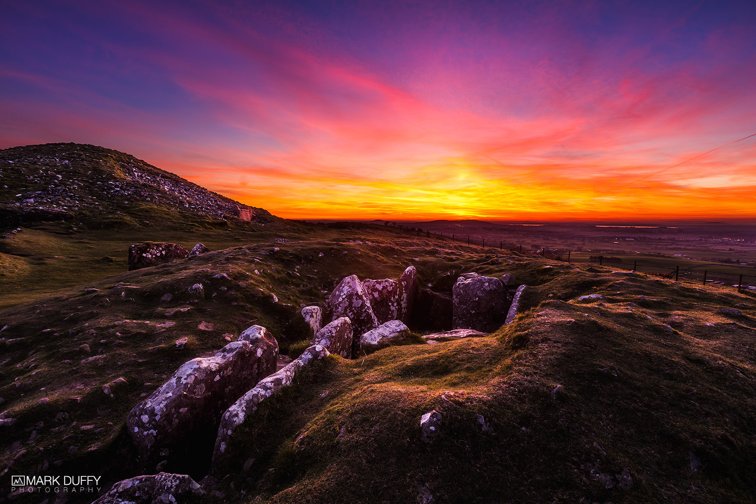 Loughcrew Cairns by Mark Duffy