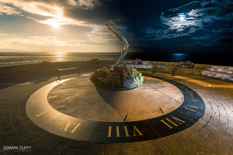 Blackrock Sundial Day to Night by Mark Duffy