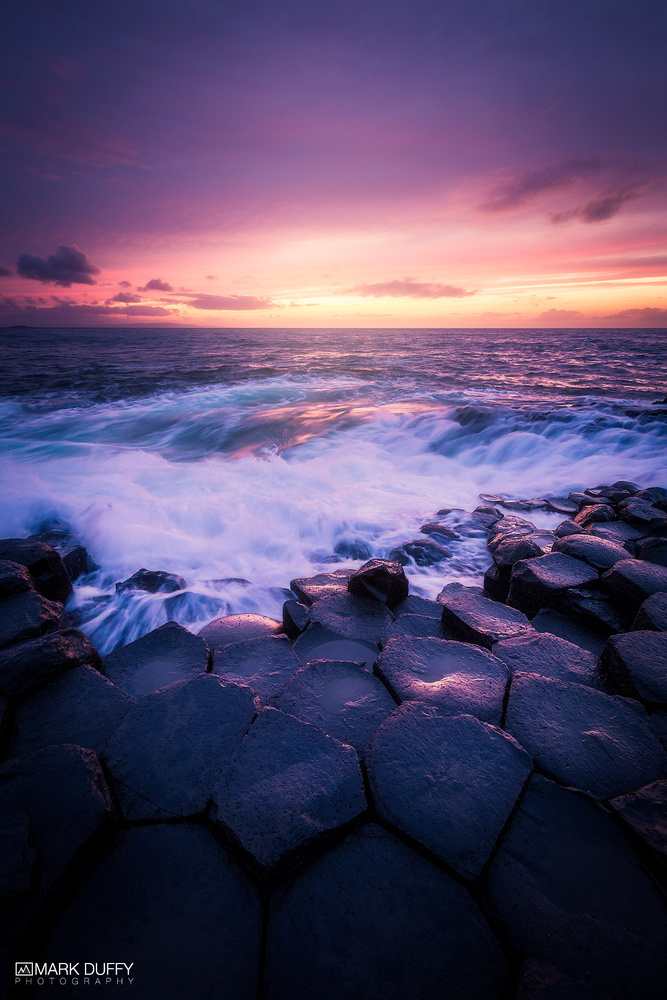 Giant's Causeway Sunset by Mark Duffy