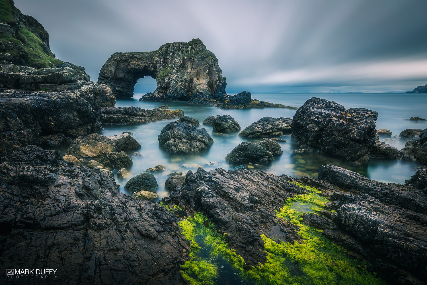 Great Pollet Sea Arch by Mark Duffy
