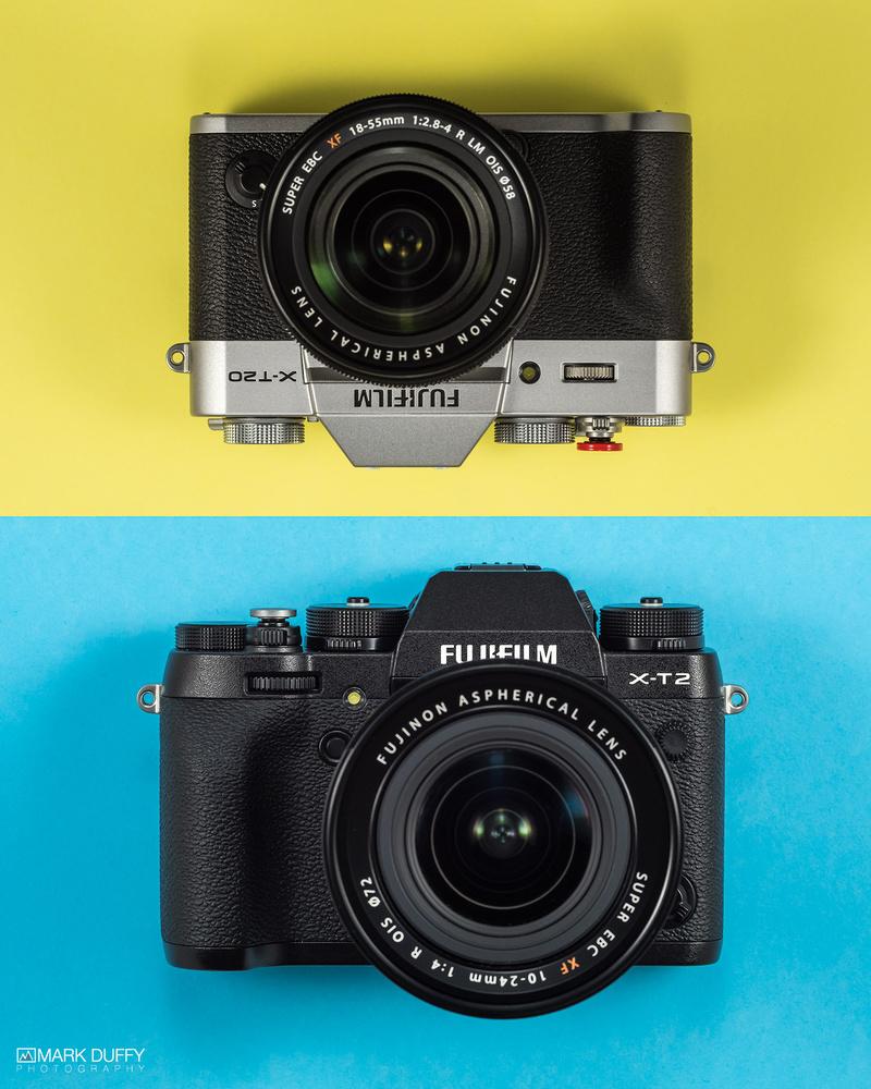 My New Fuji Cameras by Mark Duffy