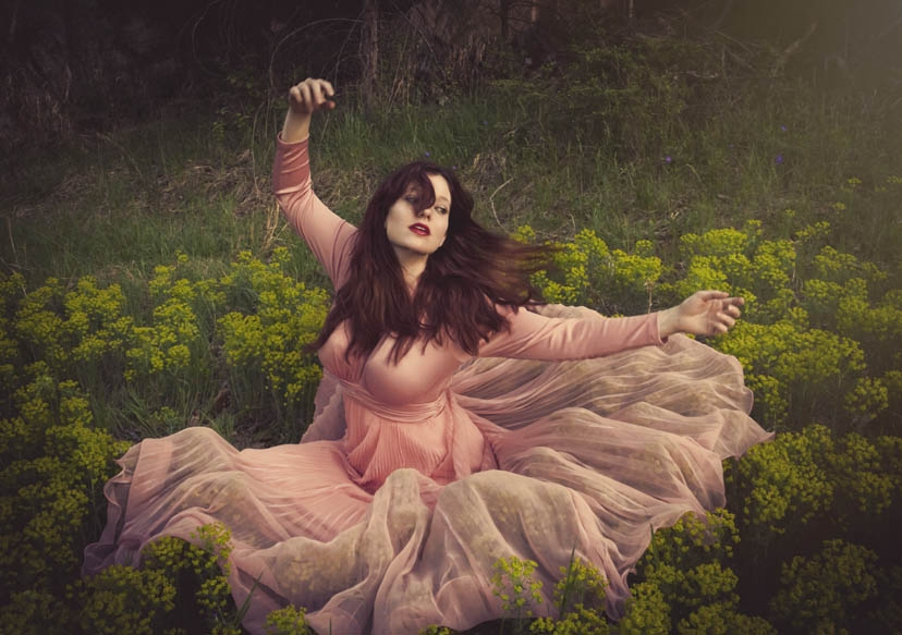 The Blossom That Blows On The Wind by Melanie Myhre