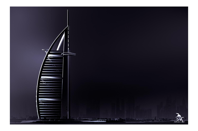 Burj Al Arab by Saajan Manuvel