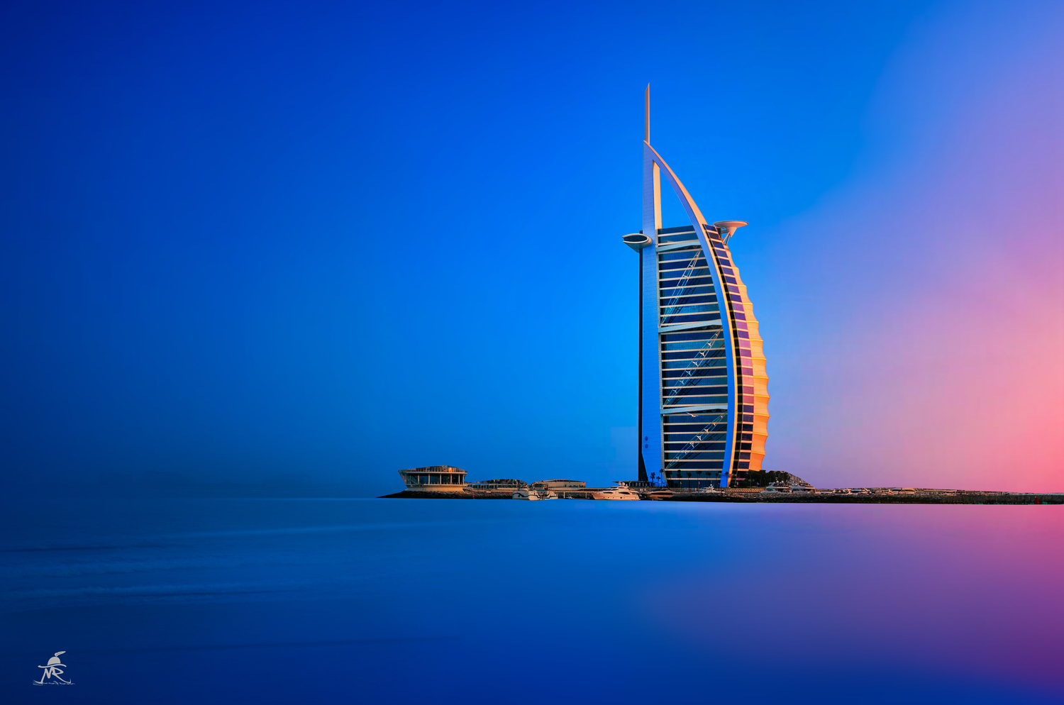 Burj Al Arab by Saajan Manuvel