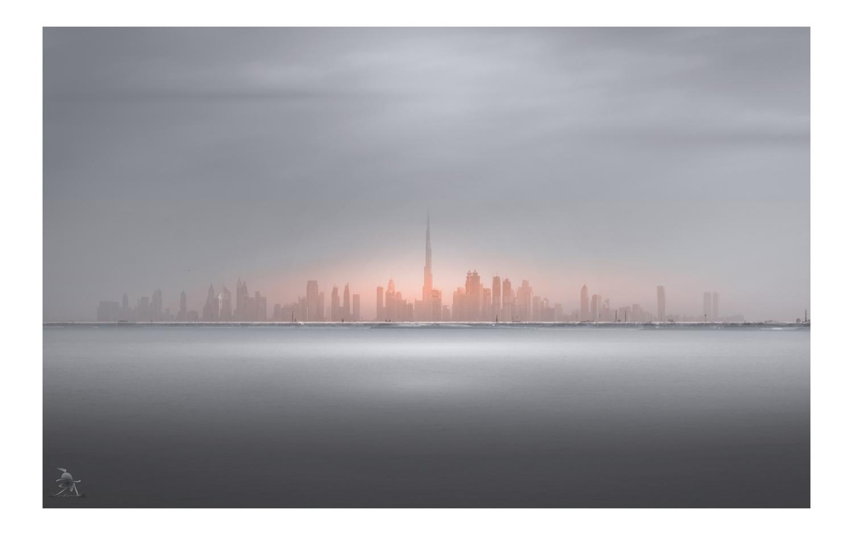 Dubai Skyline by Saajan Manuvel