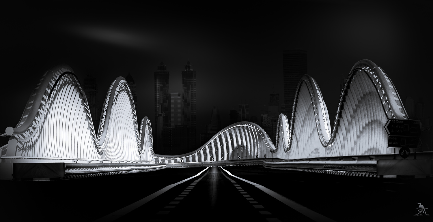 Royal Bridge, Dubai by Saajan Manuvel