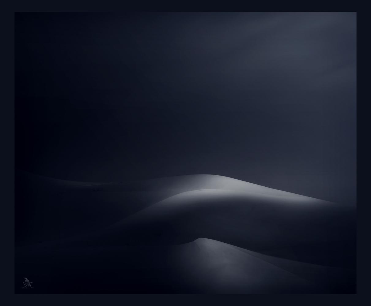 Desert Fine Dunes by Saajan Manuvel
