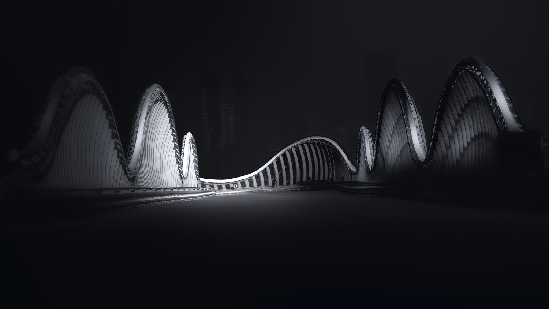 Bridge (Dubai) by Saajan Manuvel