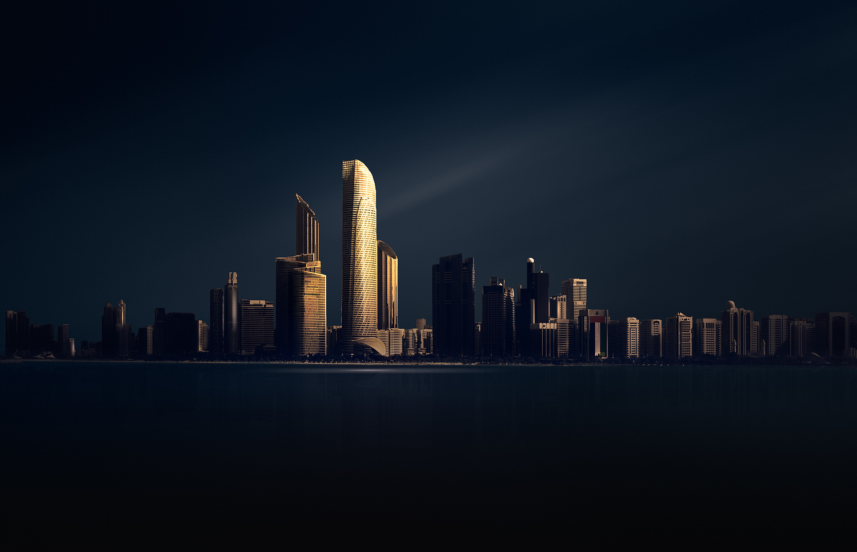 Abu Dhabi by Saajan Manuvel