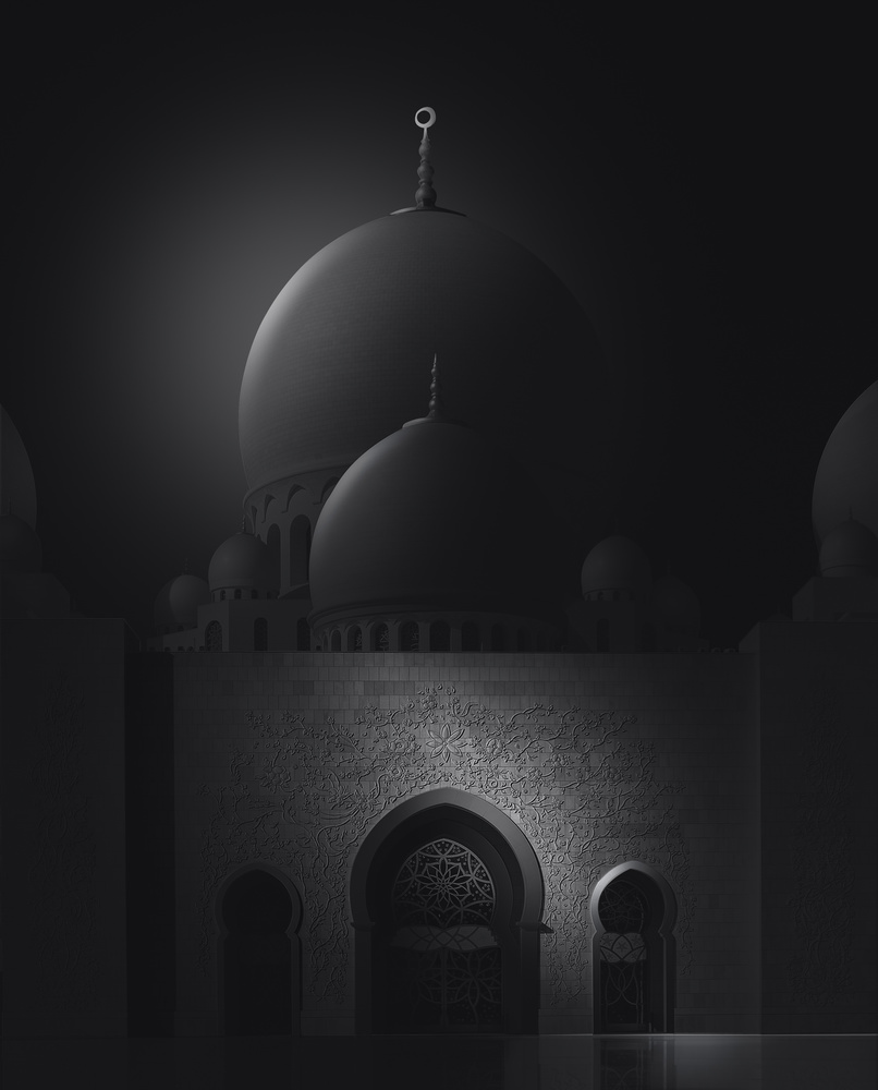 Sheikh Zayed Grand Mosque by Saajan Manuvel