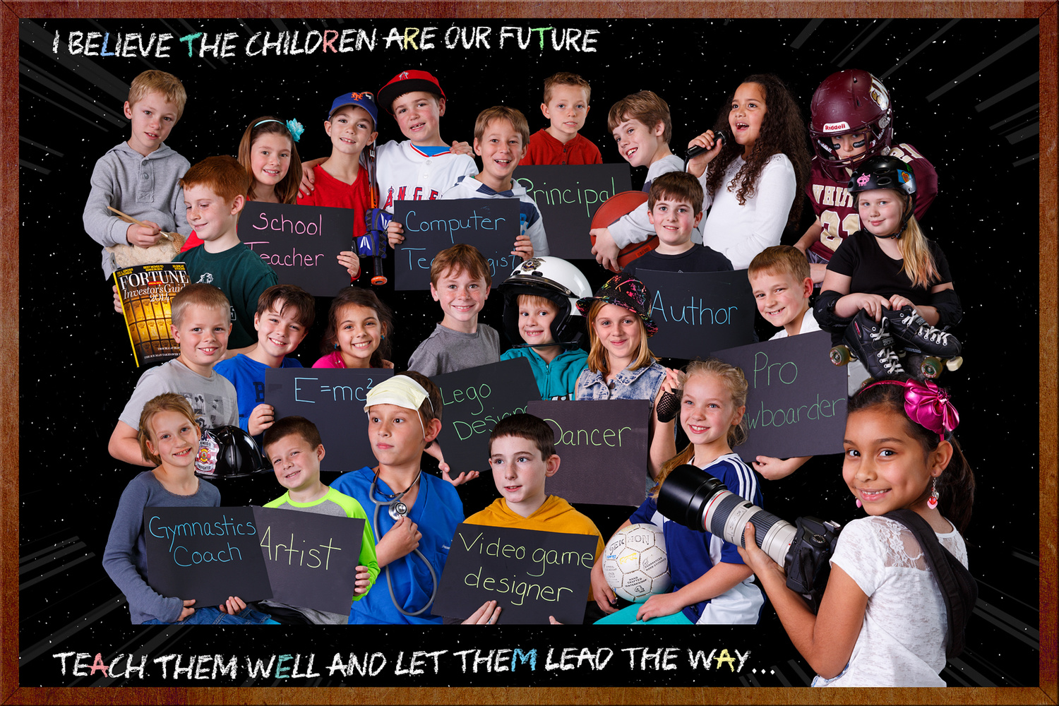I believe the children are the future... by Rick Pappas