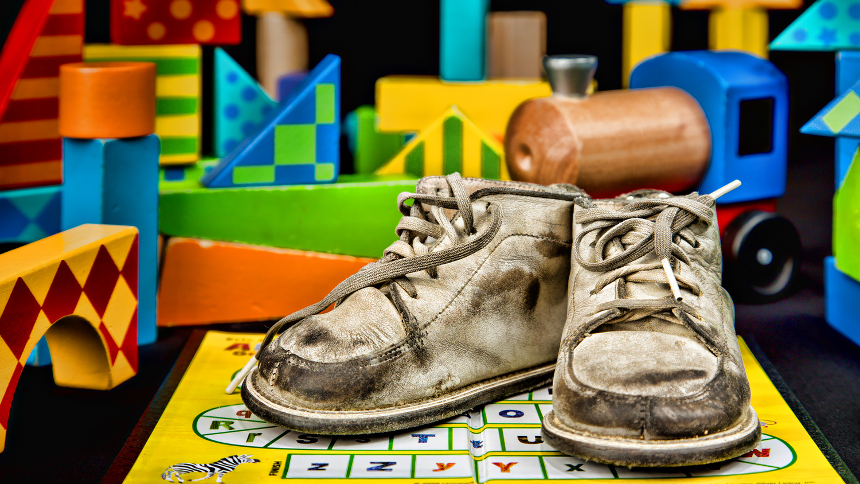 Zio's shoes by Rick Pappas