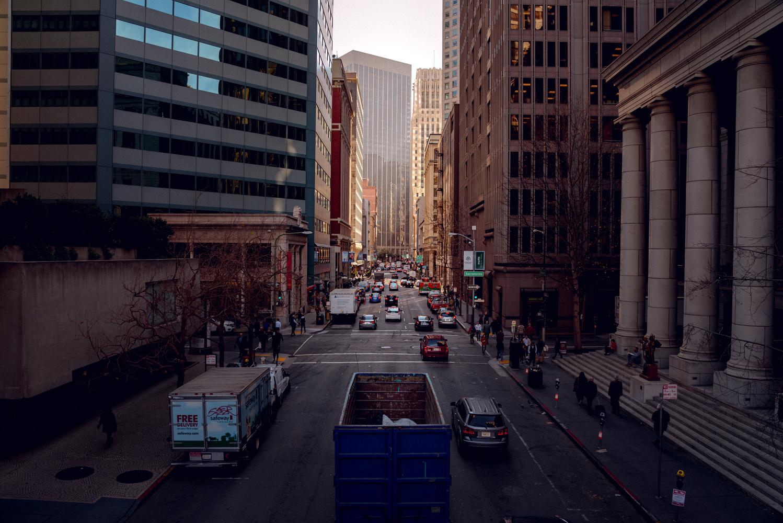 Downtown San Francisco Cityscapes view by Ryan Pensotes