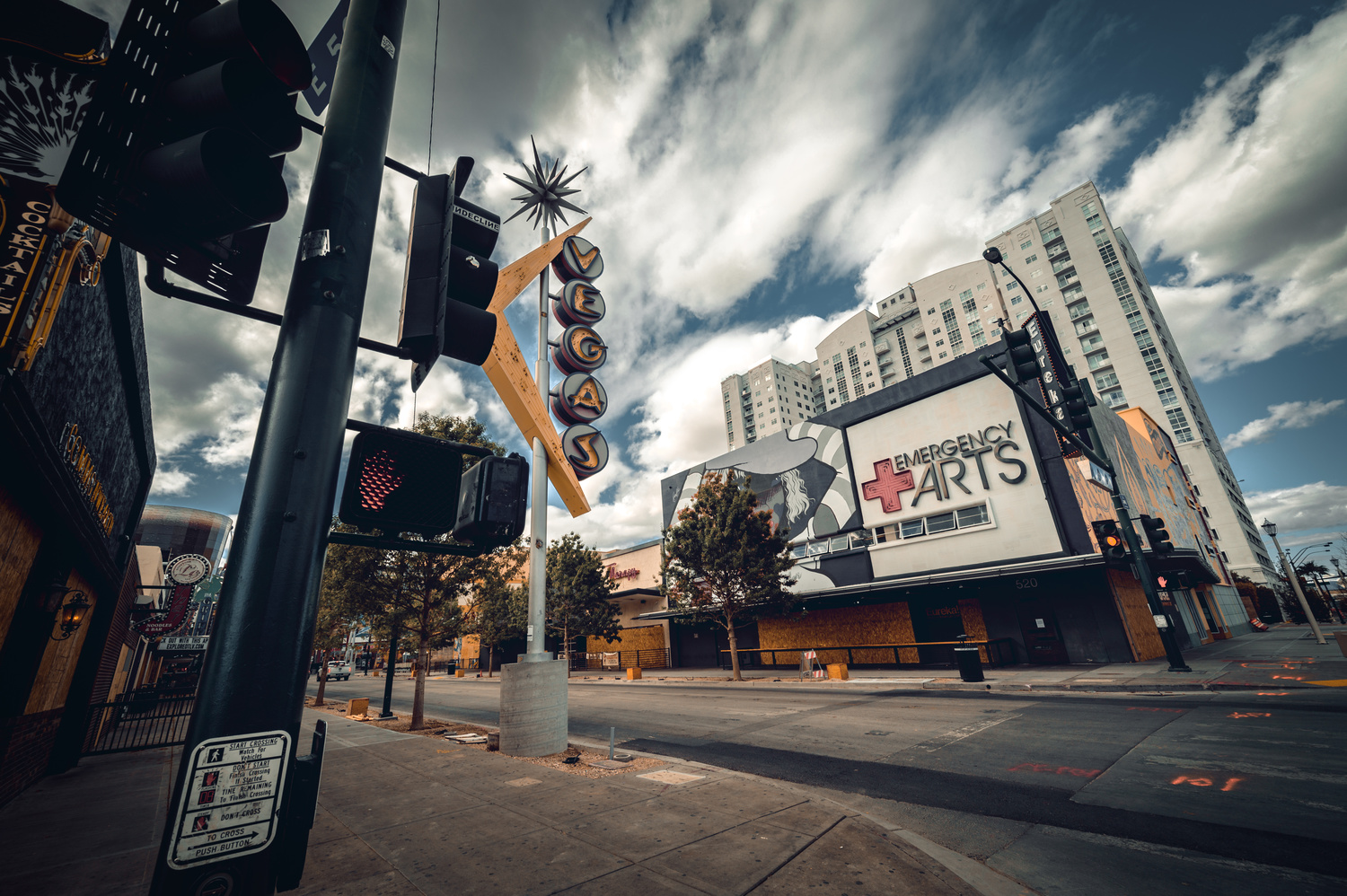 Fremont Street Closure by Ryan Pensotes