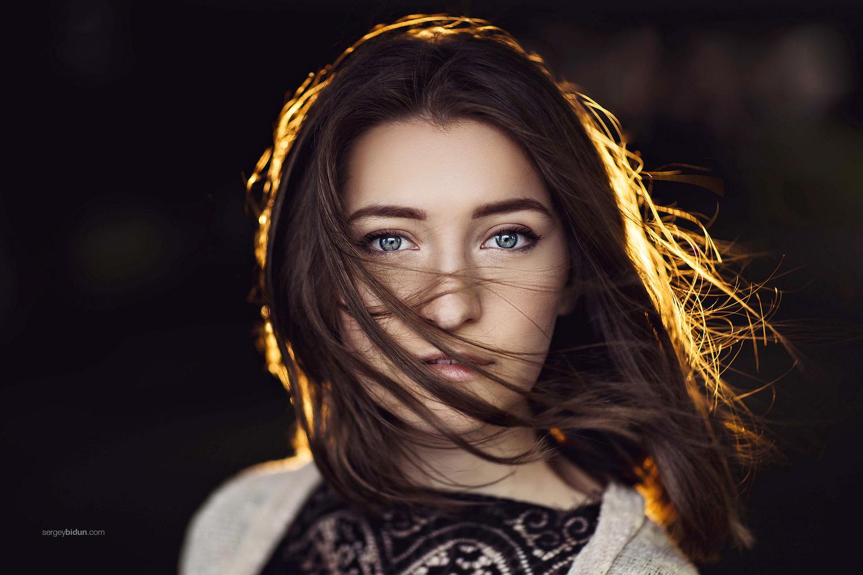 Olga Portrait by Sergey Bidun