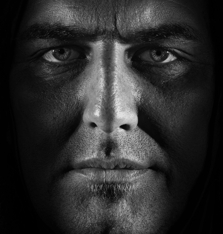 Warrior portrait by Zoltan Gal