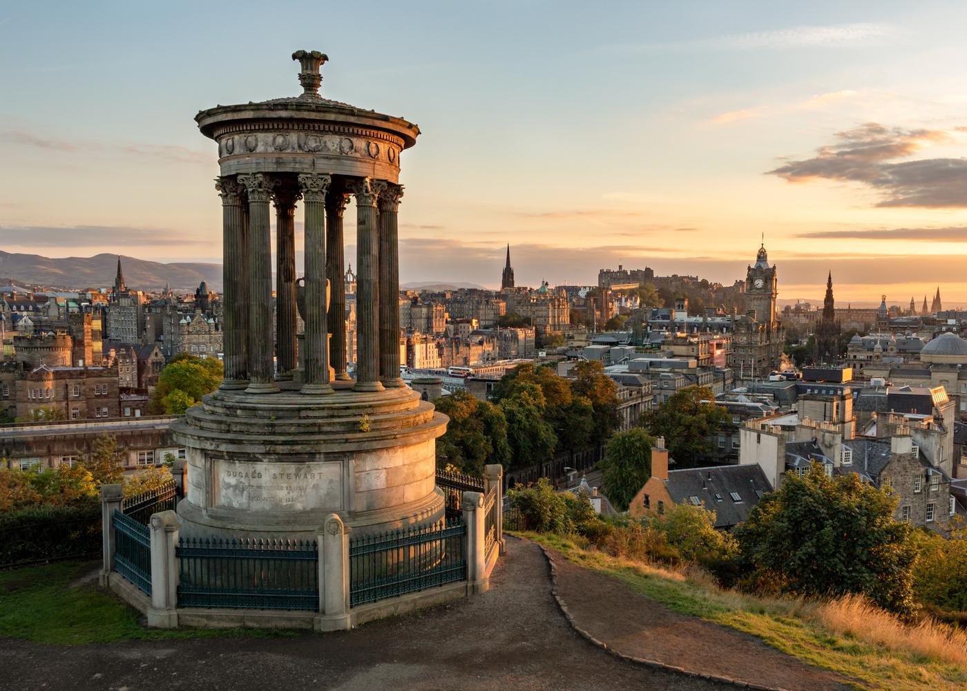 Calton Hill Edinburgh by Rick Bekendam