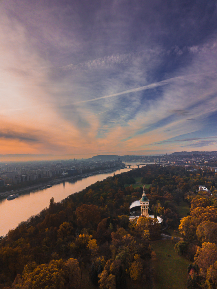 Budapest Water Tower by Kovács Apor