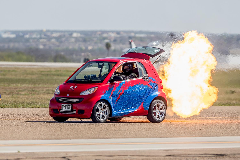 Jet Engine Smart Car by Francisco Mendoza