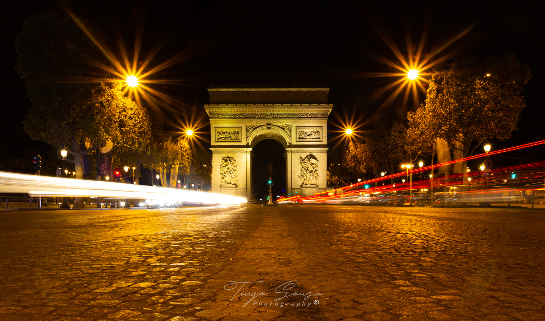 Arc de triomphe (França - Paris) by Tiago Sousa