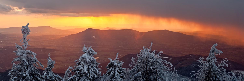 Sunset Storm by Jan Kimla