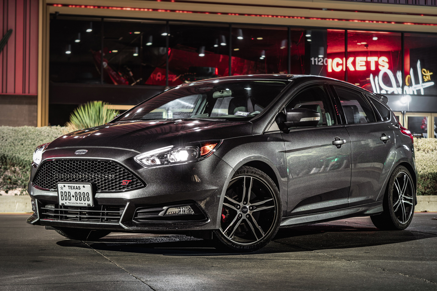 Ford Focus ST in Downtown Austin by Justin Lauria