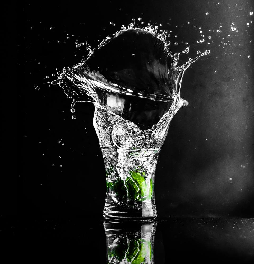 Splash with Lime by Justin Lauria