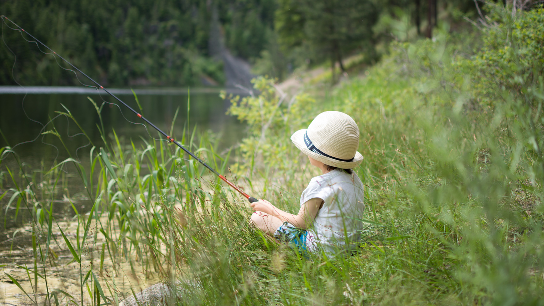 Gone Fishin' by Matthew Roberge