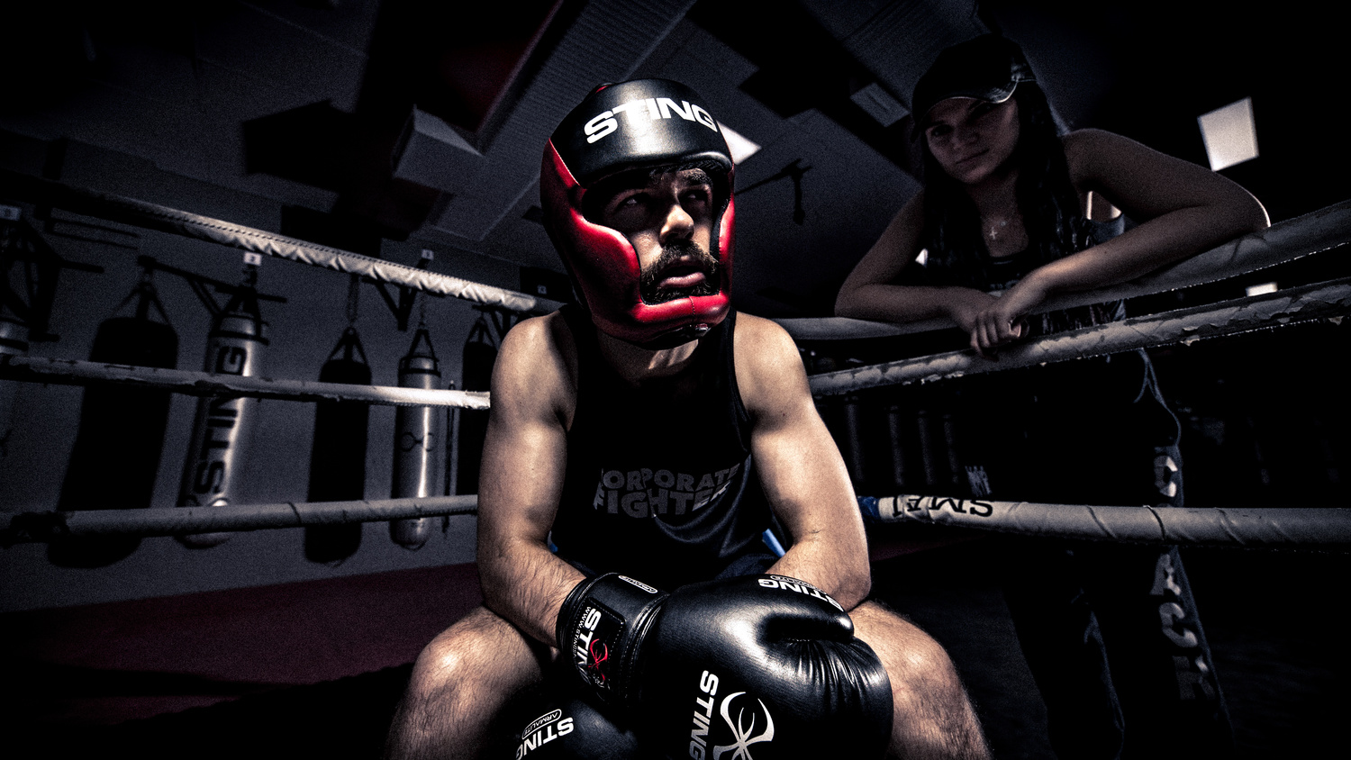 Corporate Fighter - In the Corner by James John