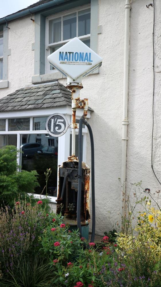 Ancient Petrol / Gas Pump by Alex Lancashire