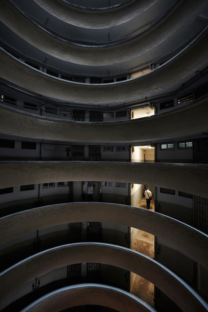 Lone Resident by ivan joshua loh