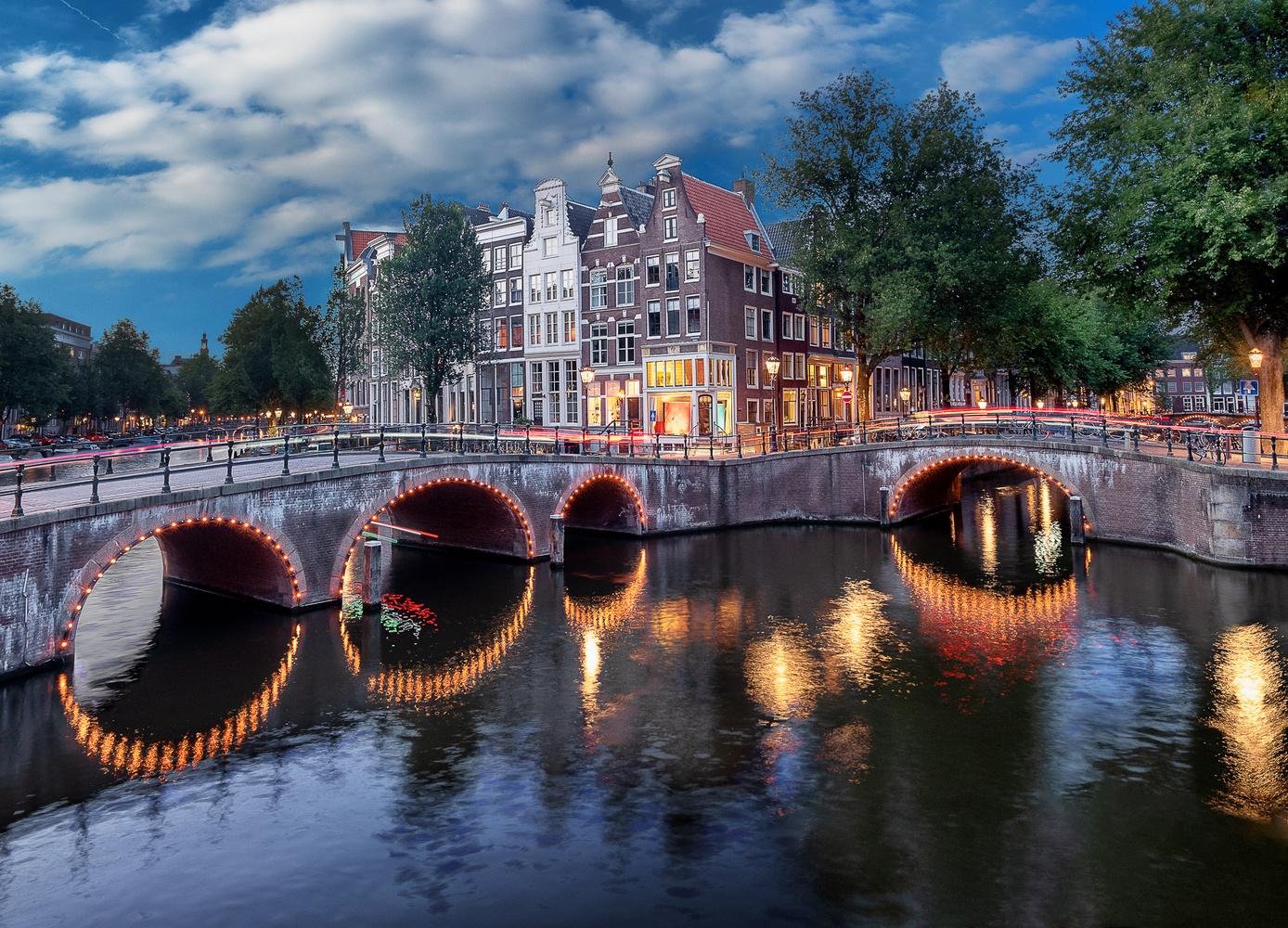 Amsterdam Keizersgracht by Thomas Schwinn