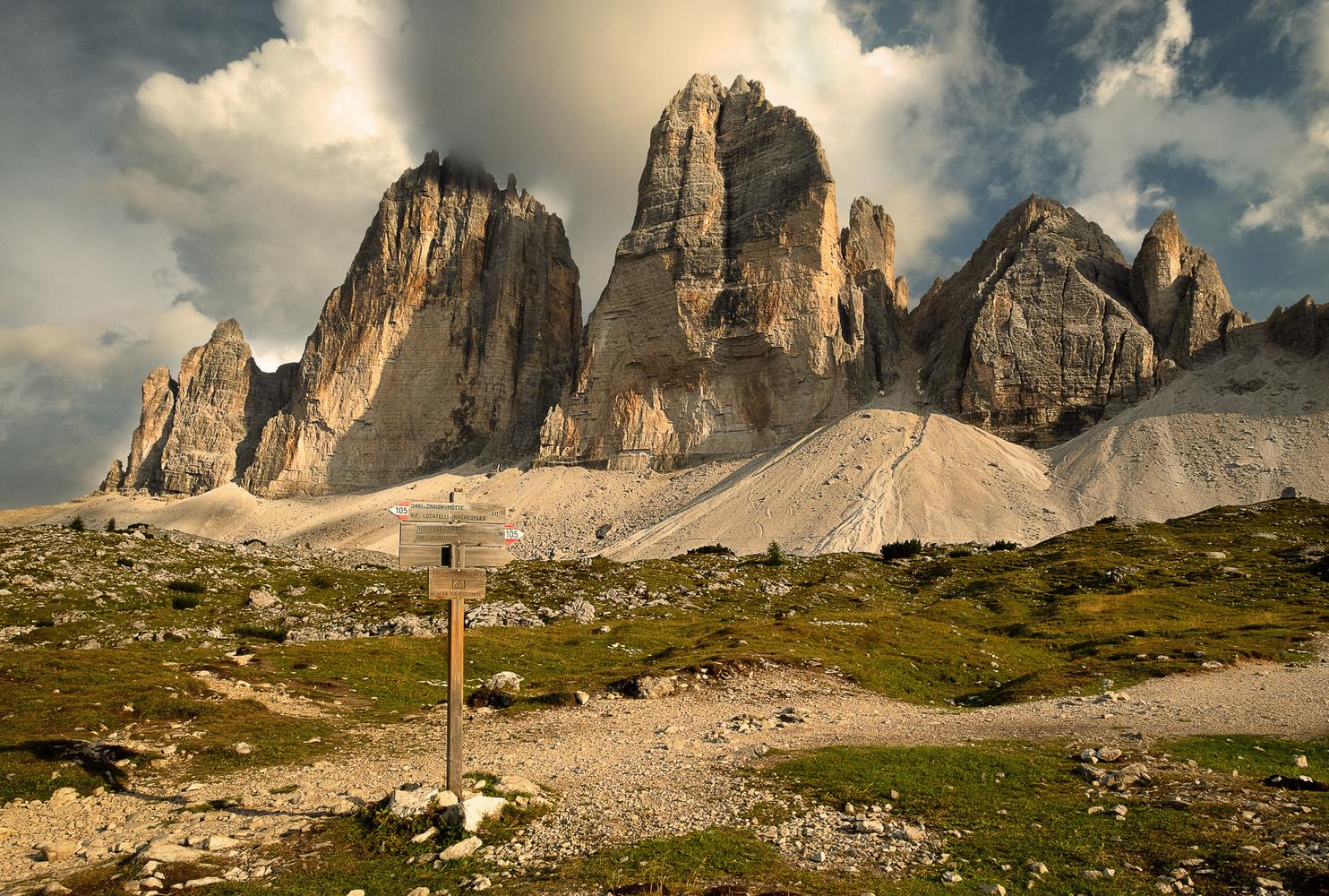 Three Mountains by Thomas Schwinn