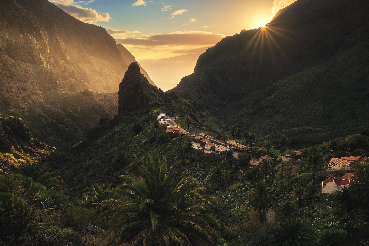 Tenerife - Masca Valley by Jean Claude Castor