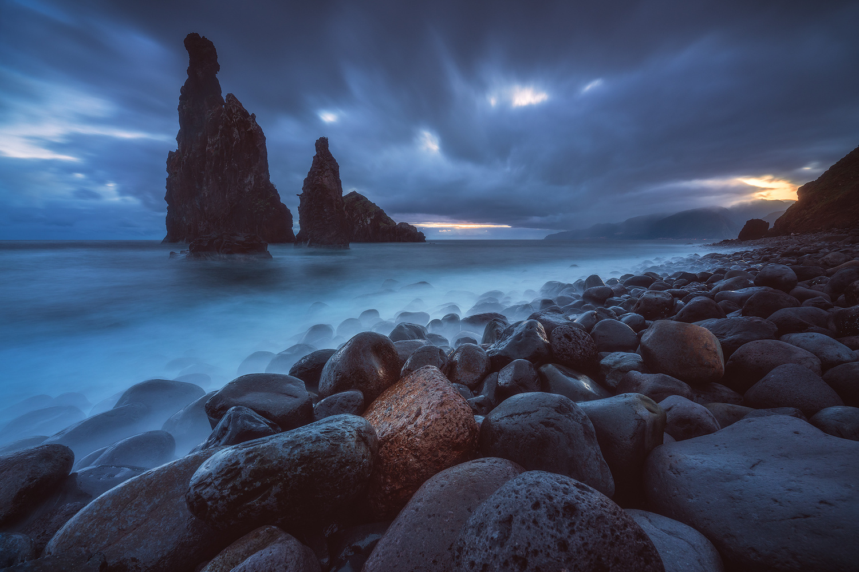 Madeira - Ilheus da Janela Sunrise by Jean Claude Castor