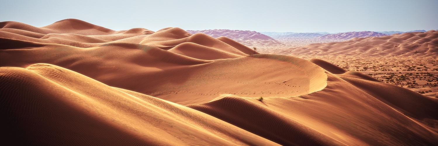 Oman - Rub Al Khali Panorama by Jean Claude Castor