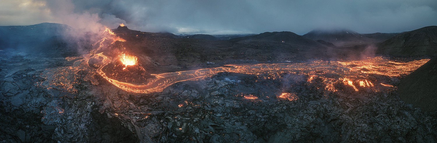Iceland - Go With The Flow by Jean Claude Castor